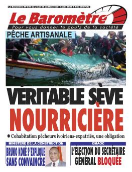 Couverture du Journal LE BAROMETRE N° 27 du 05/08/2021