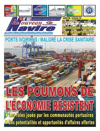 Couverture du Journal LE NOUVEAU NAVIRE N° 661 du 02/09/2020