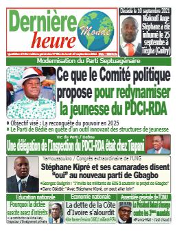 Couverture du Journal DERNIERE HEURE N° 381 du 27/09/2021