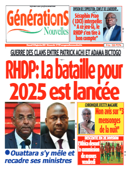 Couverture du Journal Générations nouvelles N° 747 du 15/09/2021