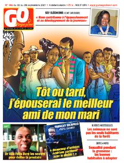 Couverture du Journal GO MAGAZINE N° 886 du 23/09/2021