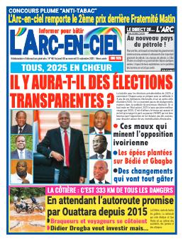Couverture du Journal ARC EN CIEL N° 497 du 09/09/2021