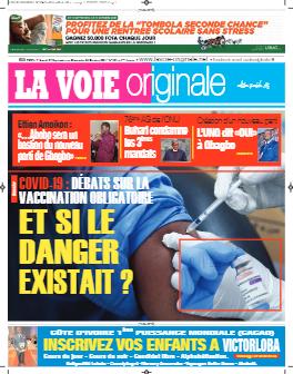 Couverture du Journal LA VOIE ORIGINALE N° 524 du 27/09/2021