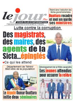 Couverture du Journal LE JOUR PLUS N° 4686 du 15/09/2021