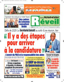 Couverture du Journal LE NOUVEAU RÉVEIL N° 5861 du 15/09/2021