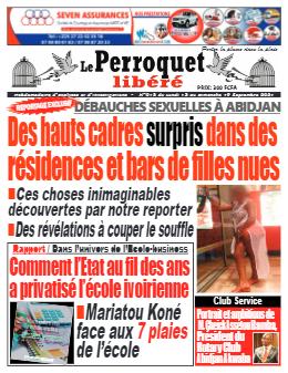 Couverture du Journal LE PERROQUET LIBERE N° 13 du 13/09/2021