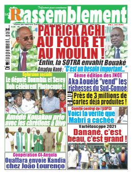 Couverture du Journal LE RASSEMBLEMENT N° 795 du 27/09/2021