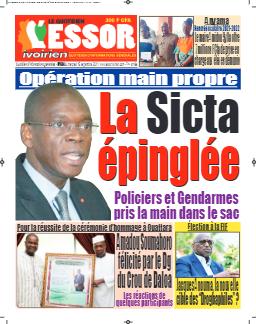 Couverture du Journal L'ESSOR IVOIRIEN N° 684 du 15/09/2021
