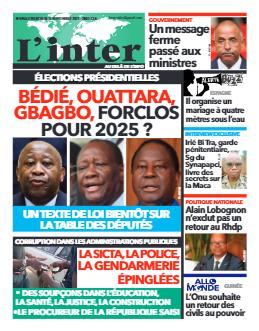 Couverture du Journal L'INTER N° 6955 du 15/09/2021