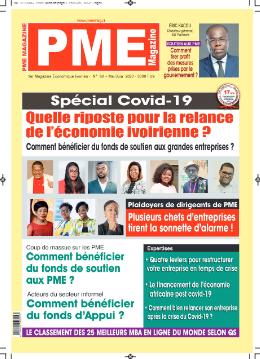 Couverture du Journal PME MAGAZINE N° 80 du 26/09/2021