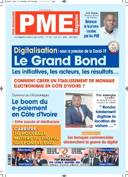 Couverture du Journal PME MAGAZINE N° 82 du 27/09/2021