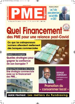 Couverture du Journal PME MAGAZINE N° 83 du 28/09/2021