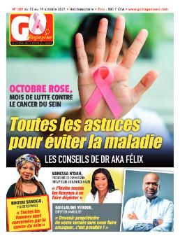 Couverture du Journal GO MAGAZINE N° 889 du 14/10/2021