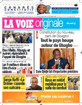 Couverture du Journal LA VOIE ORIGINALE N° 526 du 11/10/2021