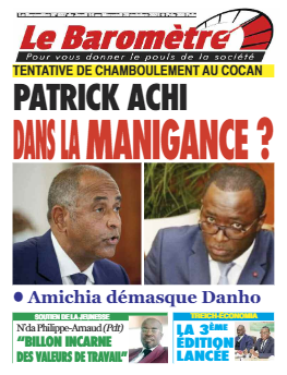 Couverture du Journal LE BAROMETRE N° 37 du 14/10/2021