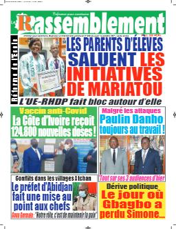 Couverture du Journal LE RASSEMBLEMENT N° 808 du 14/10/2021