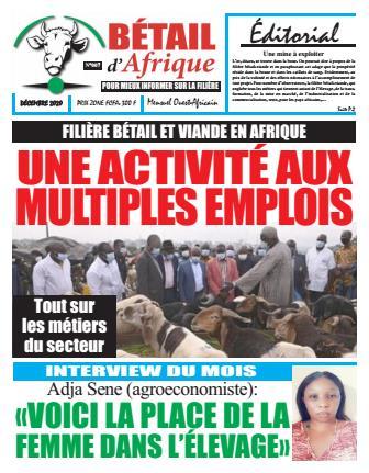Couverture du Journal BÉTAIL D'AFRIQUE N° 7 du 17/12/2020